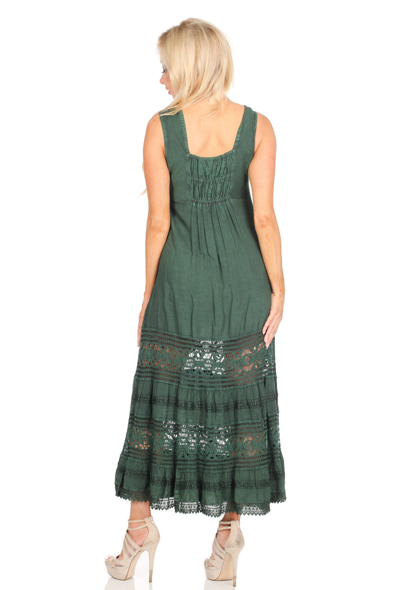Emerald Green Vintage Dress