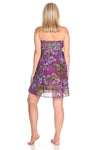 Copy of Tube Dress Paisley / Floral Print Short