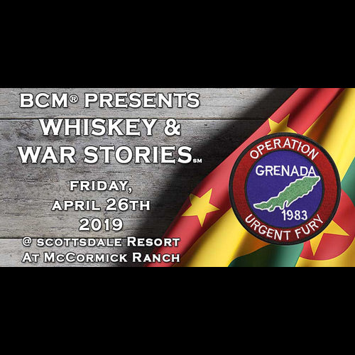 2019 Whiskey & War Stories