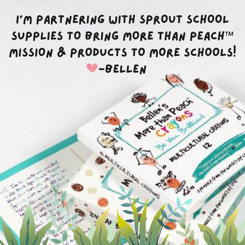 More than Peach x Sprout School Supplies