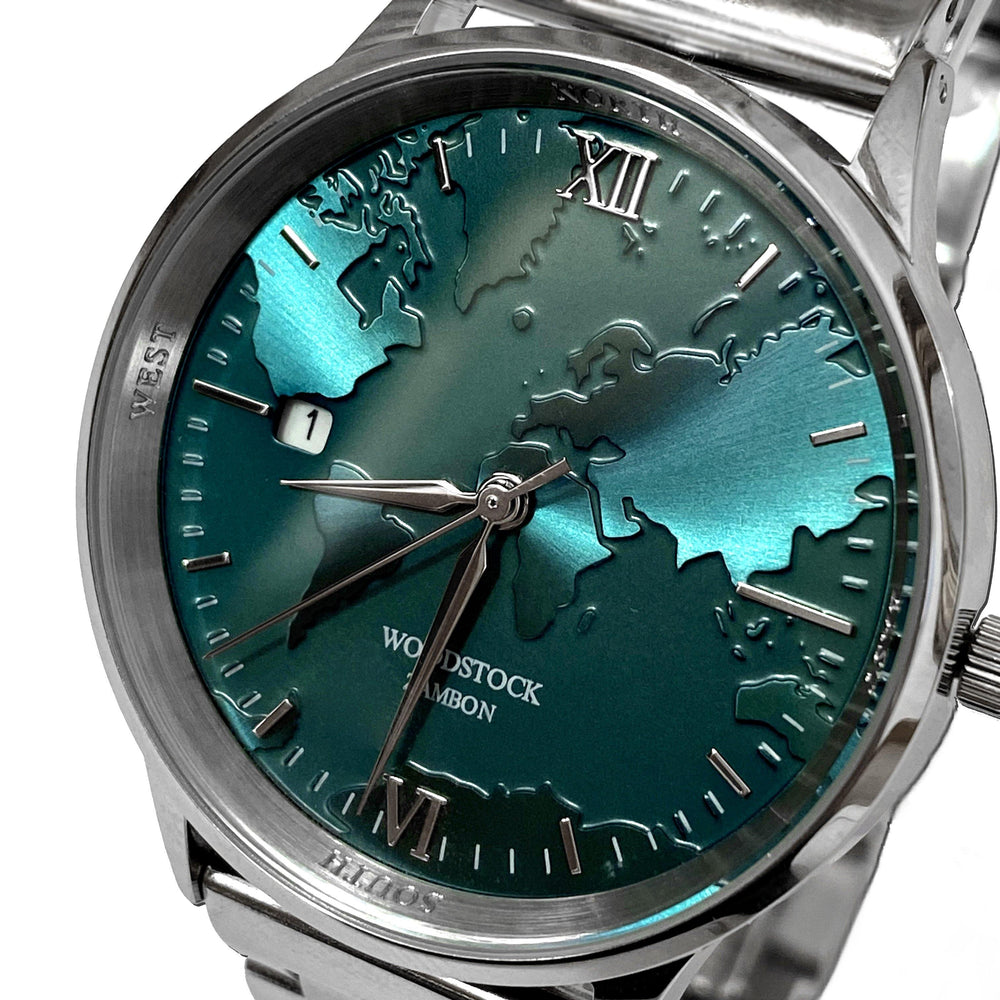 Emerald World Waterproof Watch