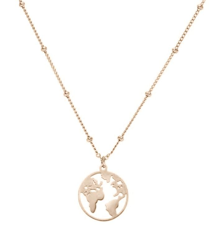World Necklace Waterproof