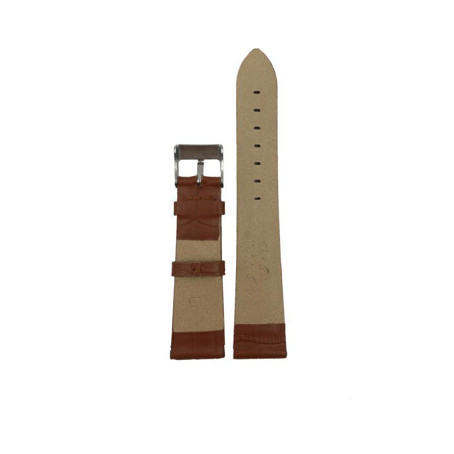 Brown Chocolate Leather Strap