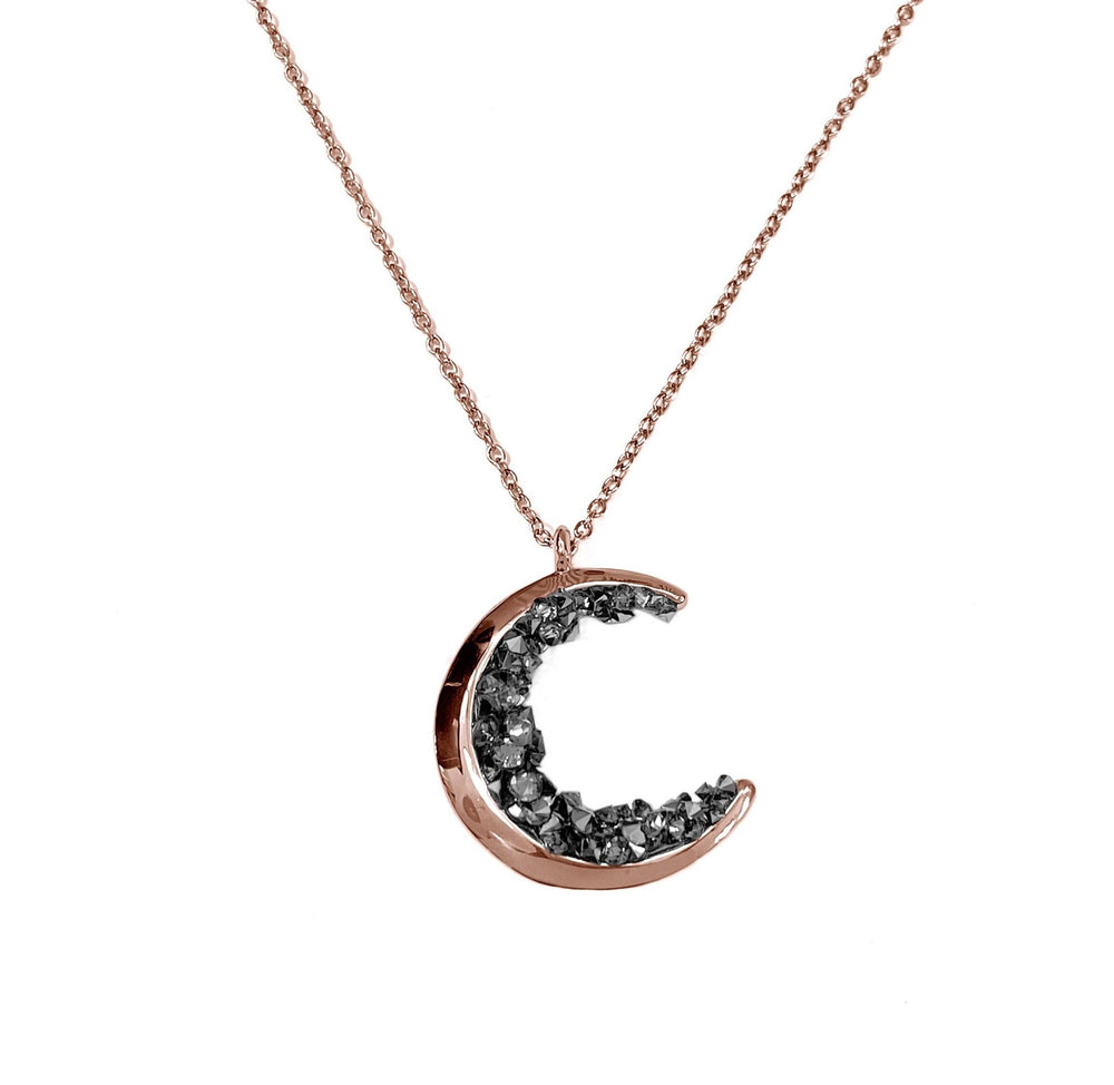 Volcanic Moon Waterproof Necklace