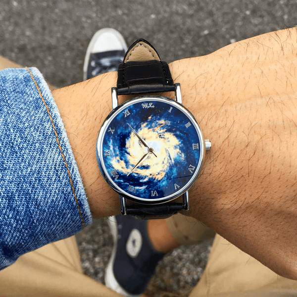 """Nebula"" Man Watch"