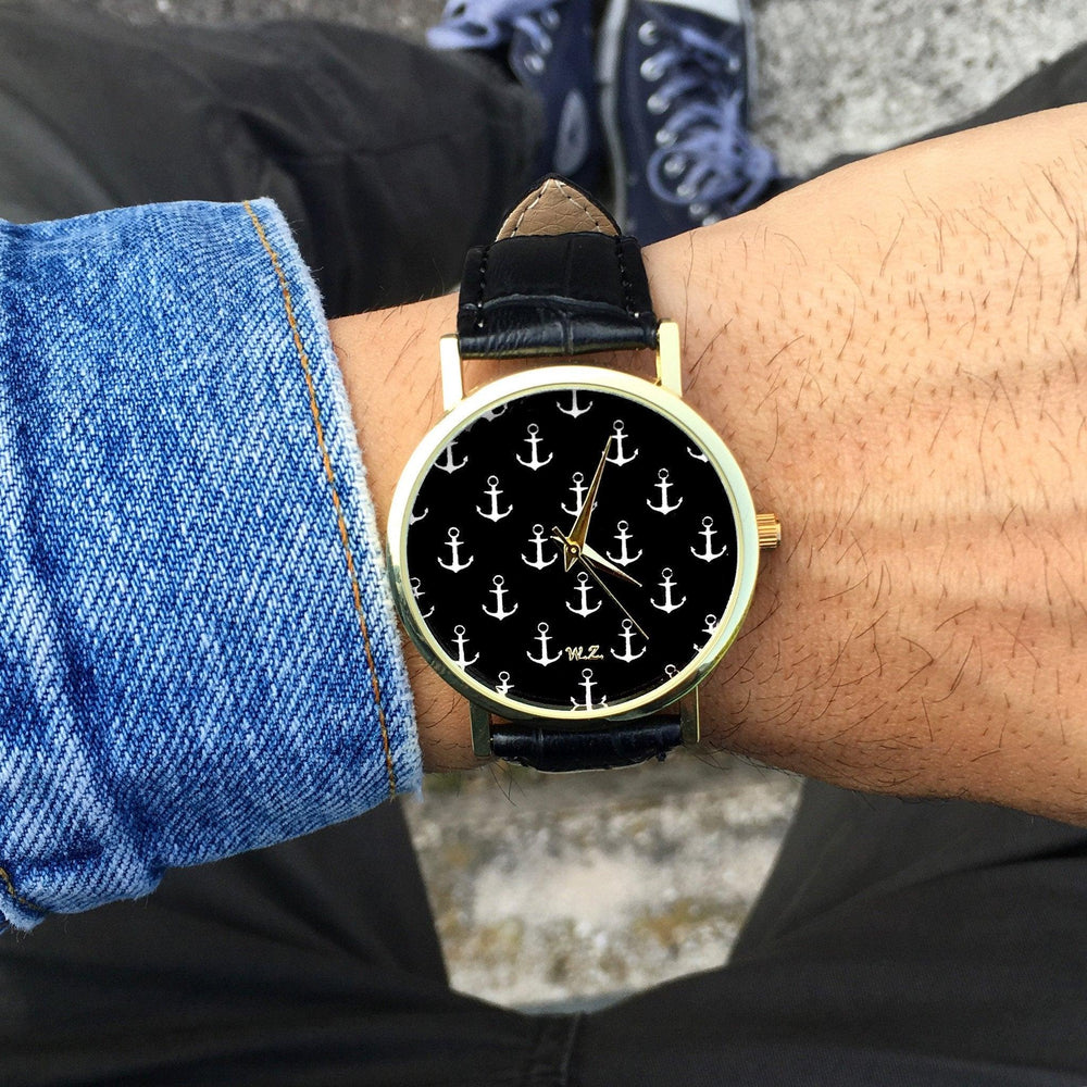 """Anchor"" Man Watch"