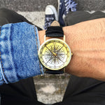 """Wind Rose"" Man Watch"