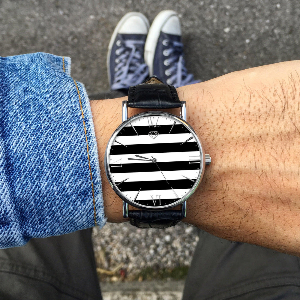 """Stripes"" Man Watch"