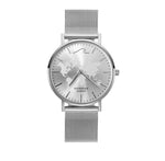 Silver Sahara Waterproof Watch