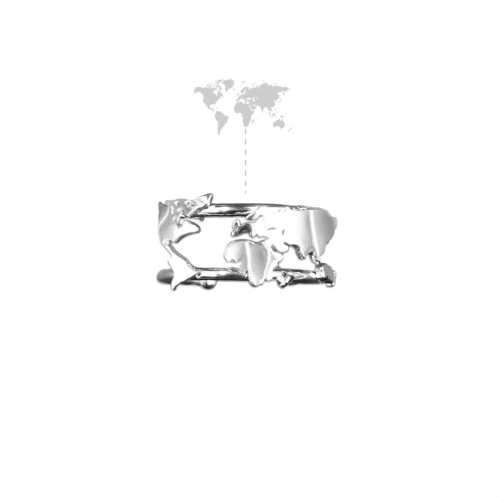 World Map Ring