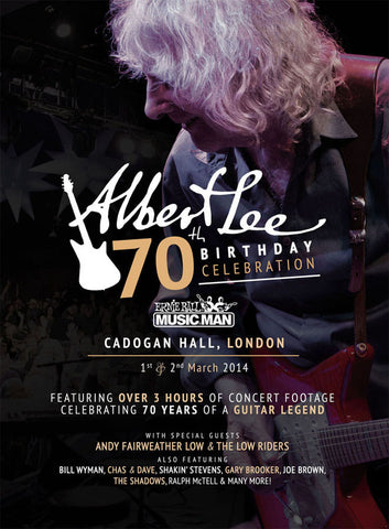 Albert Lee 70th Birthday Celebration DVD