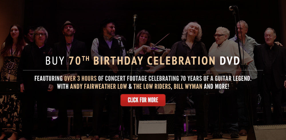 Pre-order 70th Birthday Celebration DVD