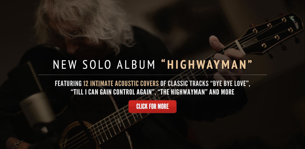 New Solo Album Highwayman