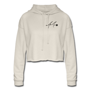 Women's - 88 Butterfly - Cropped Hoodie - dust