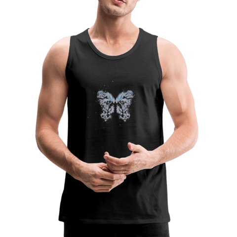 """Send Me A Butterfly"" Tank-Top - black"
