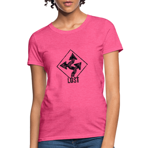 "Nolan Neal's ""Lost"" T-Shirt for Women - heather pink"