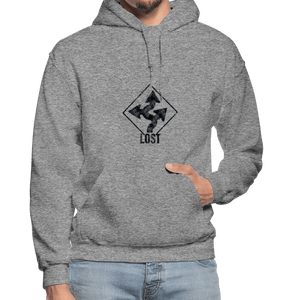 "Nolan Neal's ""Lost"" Unisex Hoodie - graphite heather"
