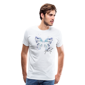 """Send Me A Butterfly"" T-Shirt - white"