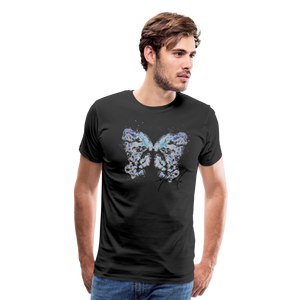 """Send Me A Butterfly"" T-Shirt - black"