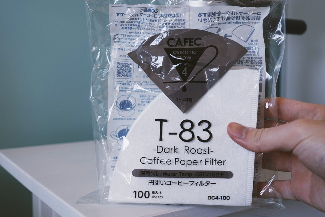 Cafec | Dark Roast Coffee Paper Filter