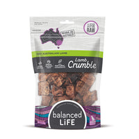 Balanced Life Australian Natural Grain Free Lamb Crumble Dog Treat - 45g