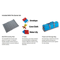 Buster Canvas Activity Snuffle Mat Starter Kit - 3 Activities Included