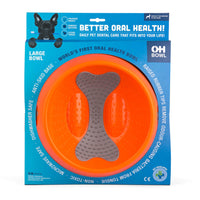 OH Bowl Slow Food Oral Health Bowl Orange