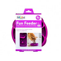 Outward Hound Fun Slow Feeder Purple