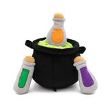 Zippy Paws Halloween Burrow Interactive Dog Toy - Witches Brew Cauldron