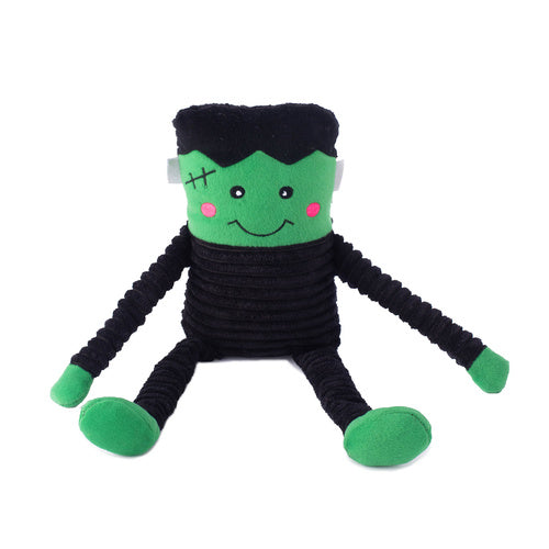 Zippy Paws Halloween Crinkle - Frankenstein's Monster with Long Crinkly Legs