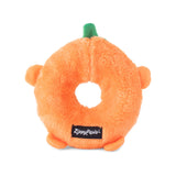 Zippy Paws Halloween Donutz Buddies Squeaker Dog Toy - Pumpkin