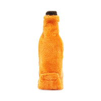 Zippy Paws Halloween Happy Hour Crusherz Squeaker Bottle Dog Toy - Pumpkin Ale