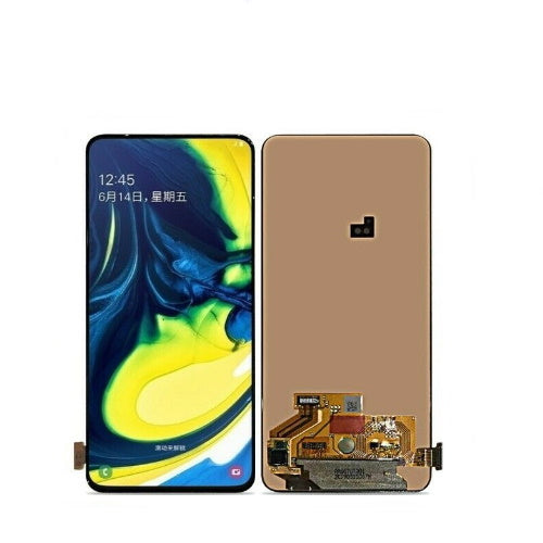 TOUCH SCREEN SCHERMO PER SAMSUNG GALAXY A80 A90 A805F NERO VETRO LCD DISPLAY