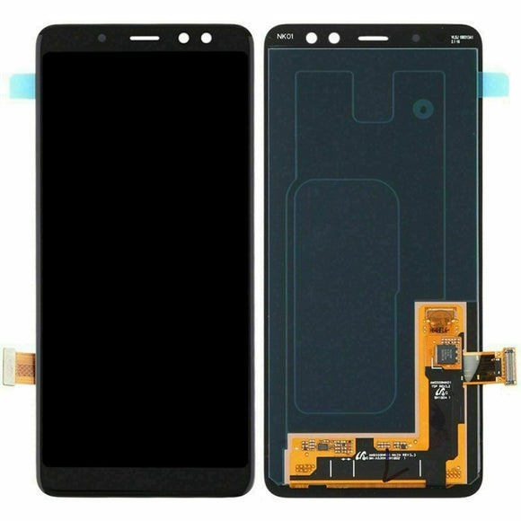 TOUCH SCREEN SCHERMO PER SAMSUNG GALAXY A8 2018 SM-A530F VETRO LCD DISPLAY