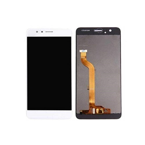 TOUCH SCREEN SCHERMO PER HUAWEI HONOR 8 FRD-L09 FRD-L19 BIANCO VETRO LCD DISPLAY