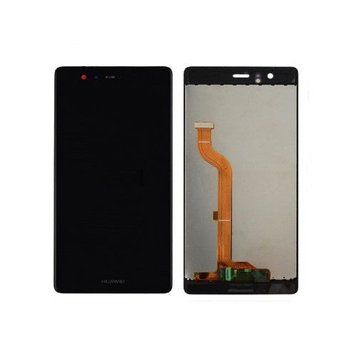 TOUCH SCREEN SCHERMO HUAWEI P9 EVA L09 EVA-L09 EVA-L29 NERO VETRO LCD DISPLAY