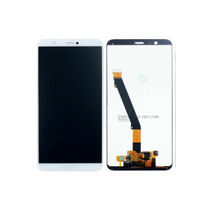 TOUCH SCREEN SCHERMO PER HUAWEI P SMART FIG-LX1 BIANCO VETRO LCD DISPLAY