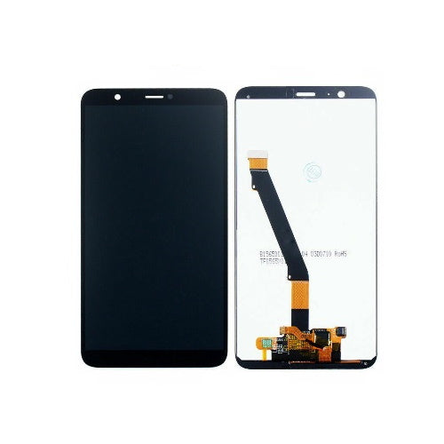 TOUCH SCREEN SCHERMO PER HUAWEI P SMART FIG-LX1 NERO VETRO LCD DISPLAY