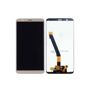 TOUCH SCREEN SCHERMO PER HUAWEI P SMART FIG-LX1 ORO VETRO LCD DISPLAY