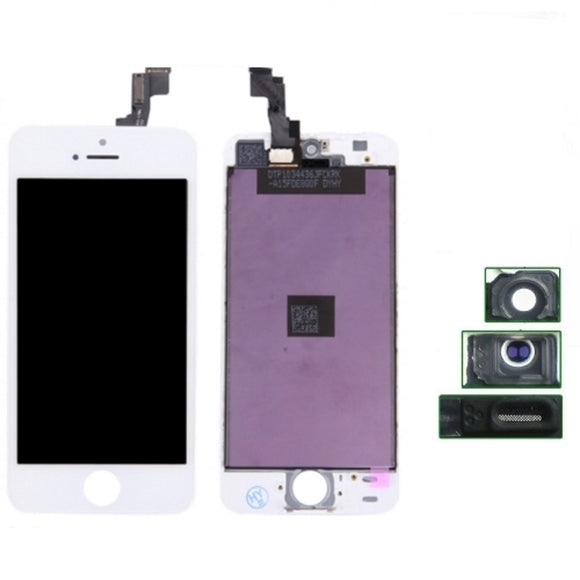 Schermo per iPhone 5S Bianco Lcd Touch Screen Retina AAA+ Grade