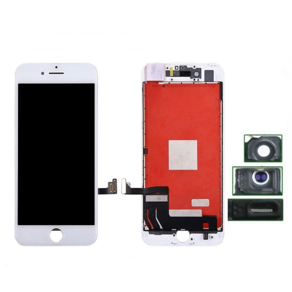 Schermo per iPhone 8 Bianco Lcd Touch Screen Retina AAA+ Grade