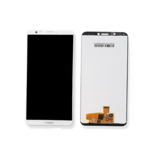 TOUCH SCREEN SCHERMO PER HUAWEI HONOR 7C LDN-L01 BIANCO VETRO LCD DISPLAY