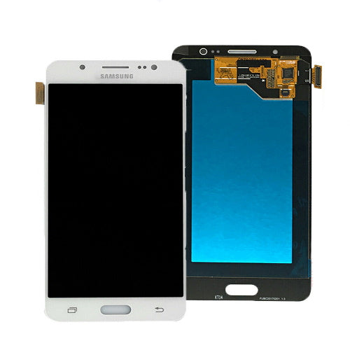TOUCH SCREEN SCHERMO PER SAMSUNG GALAXY J5 2016 SM-J510FN BIANCO VETRO OLED DISPLAY