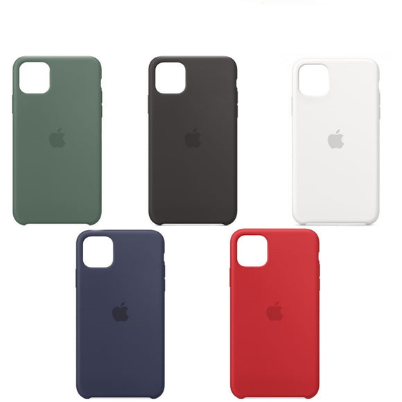 APPLE CUSTODIA COVER PER IPHONE 11 / 11 PRO / 11 PRO MAX SILICONE CASE ORIGINALE