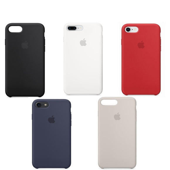 APPLE CUSTODIA COVER PER IPHONE 7 / 7 PLUS / 8 / 8 PLUS SILICONE CASE ORIGINALE