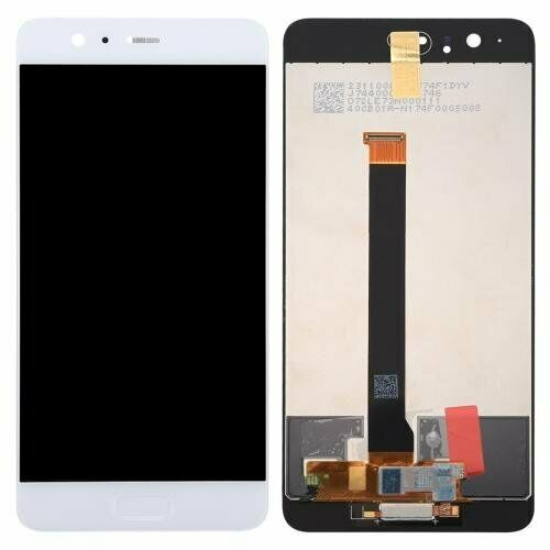 TOUCH SCREEN SCHERMO PER HUAWEI P10 PLUS VKY-L09 BIANCO VETRO LCD DISPLAY