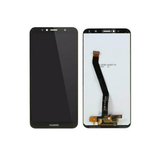 TOUCH SCREEN SCHERMO PER HUAWEI Y6 2018 ATU-L11 L21 NERO VETRO LCD DISPLAY