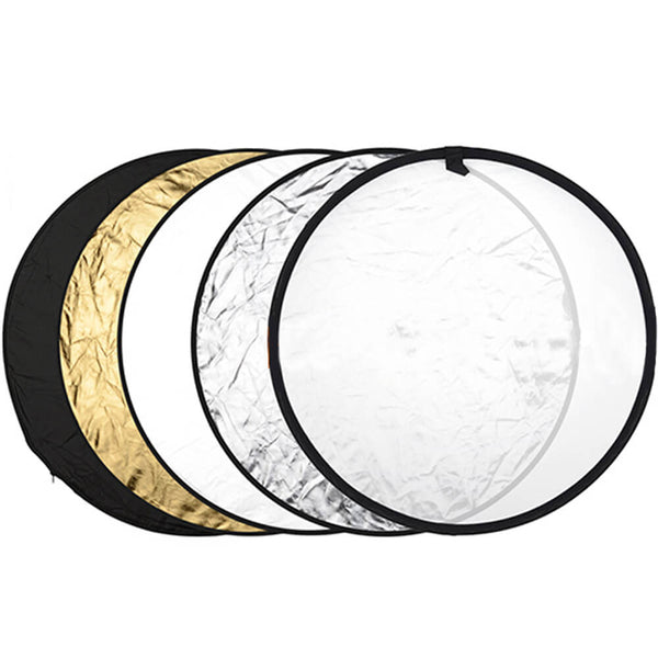 "5-in-1 Collapsible Multi-Disc Light Reflectors (23""/60cm) - DecoGear"