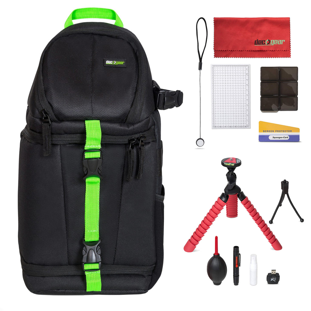 Sling Backpack Accessories Kit for DSLR and Mirrorless Cameras