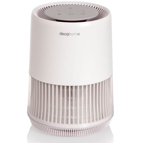 Deco Home AIRHEP13W Compact Air Purifier with HEPA 13 and Infrared Technology, Filter Allergens, Dust, Pollen, Mold, Organic Compounds, and more, for Home or Office